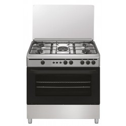 Cocina 5 Fuegos 90x60 Inox Gas Natural Vitrokitchen CB9060IN