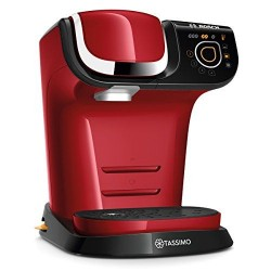 Cafetera Multibebidas Tassimo My Way Bosch TAS6003 Color Rojor 1500 W