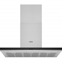 Campana Decorativa de Pared Siemens LC91BUV50 Black Box Slim 90 cm, 920 m3/h IQ700