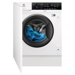 Lavadora Integrable Electrolux EW7F3846OF, 8kg, 1.400 rpm, A+++-20%, Inverter, Vapor refresh