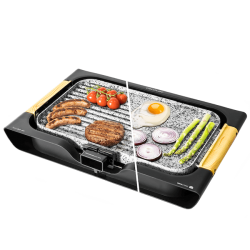 CECOTEC Plancha Grill eléctrica Rock and water 3000 Twin Ref. 3004