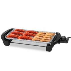 CECOTEC Plancha Grill eléctrica Rock and water 2000 Ref. 3052