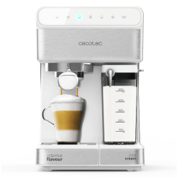 CECOTEC Cafetera semi- automática Power Instant-ccino 20 Touch Serie Bianca Ref. 1557