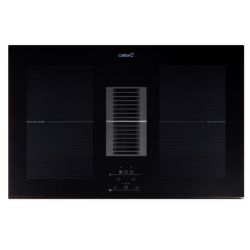 CATA AS750 2 FLEX INDUCTION de 4 Zonas Ancho 77 cm con aspiración Central